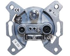 FD6iL, Stich- oder Enddose 1 dB