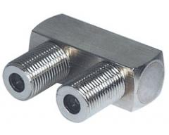 FF13WL, F-Verbinder, F-Kupplung - F-Kupplung,  5-2400 MHz