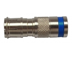 F-KPS 49 Q Blau, F-Quick Kompressionsstecker für AC100, AC400