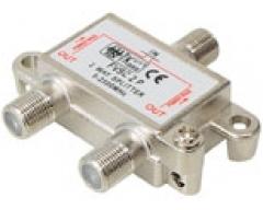 FVSC2PL, 2-fach Verteiler, DC-Durchgang an allen Anschlüssen, 5-2500 MHz, Unicable-tauglich