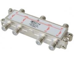 FVSC6PL, 6-fach Verteiler, DC-Durchgang an allen Anschlüssen, 5-2500 MHz, Unicable-tauglich