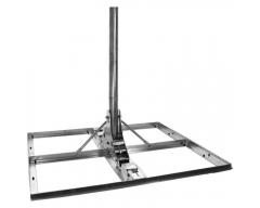 Goliat / Terrassenständer 4x50x50cm, Mast Ø 60mm, 10° Neigung