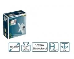 H5-1L, Wandhalter für Flach-Bildschirm 10-30 Zoll (25-76cm), trägt bis zu 20 kg