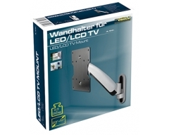 "HL10-2L, LCD-Wandhalter mit Gasdruckfeder 23-42"" (58-107cm), 2,5-20 kg, Wandabstand 55-360 mm"