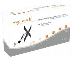 """HL13-2L, LCD-Wandhalter mit Gasdruckfeder 37-50"""""""