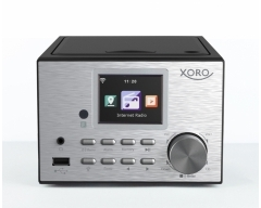 XORO HMT 500 Pro, Multifunktionale Micro Kompaktanlage mit Internetradio, DAB+ und UKW, CD Player