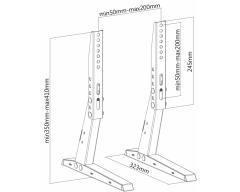 HP35L, Universal Standfuß für LCD TV