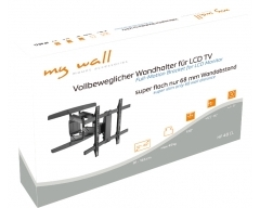 "HP40CL, 32""-65"", max. 45kg, TV-Wandhalter für Curved LCD-TV"