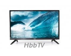 """HTL 2477, 23,6"""" SmartTV HDTV Fernseher mit 12V Anschluss, integriertem HD Triple Tuner (DVB-S2/T2/C), HbbTV und Mediaplayer"""