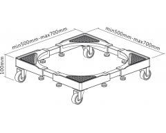 HZ22WL, Rollrahmen für Haushaltsgeräte