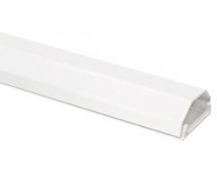 HZ3-0,75WL, 0,75m Kabelkanal aus Aluminium, 33 mm. 2-teilig, weiß