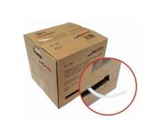 AC100 250m Butler/Weiß, Cu-Koaxialkabel >120 dB, Klasse A+, Dreifachgeschirmt, Kupfer Innenleiter