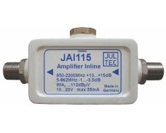 JAI0115, SAT-Inline-Verstärker, 950-2400 MHz, 15dB, ferngespeist