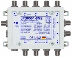 JPS0501-8M2, 5 Eingänge, 1 Ausgang mit 8 Unicable Adressen, kaskadierbar