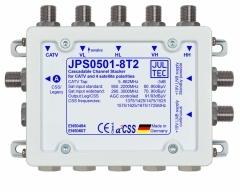 JPS0501-8T2, 5 Eingänge, 1 Ausgang mit 8 Unicable Adressen