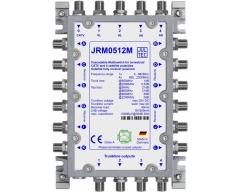 JRM0512M, Kaskaden-Multischalter 5 Eingänge/ 12 Ausgänge, kein Netzteil erforderlich!