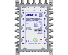 JRM0512T, Multischalter 5 Eingänge/ 12 Ausgänge, kein Netzteil erforderlich!