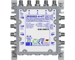 JRS0502-4+4T, 5 Eingänge, 6 Ausgänge für je 2x4 Unicable Adressen + 4 Legacy