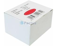 KS7-100WKL, für Kabel ø 7 mm Nagellänge 22 mm, weiß 100 St. im Karton