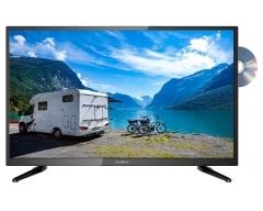 LDD4088, 5 in 1 - Gerät: DVD-Player / LED-TV mit DVB-S2 (SAT), DVB-C (Kabel), DVB-T2 HD (Terrestrial) & Analog-Kabel-TV
