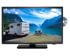 "LDDW24N / LDDW240, 24"" (60cm), 5 in 1: DVD-Player / LED-TV mit DVB-S2/-S, DVB-C), DVB-T2 HD/-T & Analog-Kabel-TV"