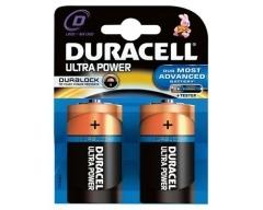 DURACELL Ultra Power, MX1300 LR20, Mono-Batterie, D, Blister (2)