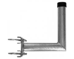 Mastausleger - Stahl / L- Form, 25cm / Rohr Ø48mm