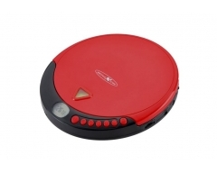 PCD500MP rot, tragbarer CD/MP3-Player