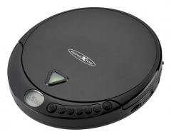 PCD510MF schwarz, tragbarer CD-Player mit UKW-Radio