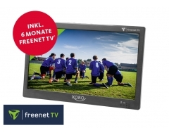 """PTL 1050, (25,6 cm/10,1"""")Tragbarer Fernseher mit DVB-T2 HD Tuner und für freenet TV"""
