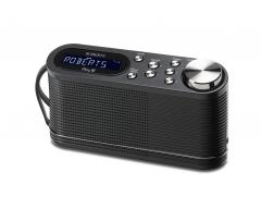 Play10 schwarz, Tragbares DAB+/FM Radio mit Stationsspeichertasten