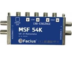 MSF 54K, Erweiterungseinheit für MSF 58B, 5 Eingänge/4 Ausgänge