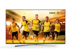 "U50Q5T, UHD-TV 50"" (126cm), Ultra-HD 3840x2160, HDR10, UHD Upscaling, SMART Funktion, Blue Metal + Screw-less Design"