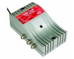 SAM 1118, SAT / BK - Verstärker, Eingänge: 1 (47-2300 MHz) - Ausgänge: 1, Verstärkung: 47-862 MHz: 11 / 950-2150 MHz: 11-18 dB