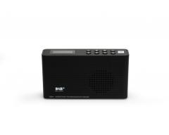 Opticum TON4 schwarz, UKW/DAB+/Internet-Radio mit Bluetooth