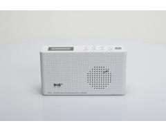 Opticum TON4 weiß, UKW/DAB+/Internet-Radio mit Bluetooth