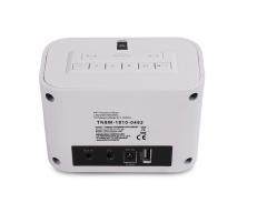 Opticum TON6 weiß, UKW/Internet-Radio mit USB-Ladebuchse, Relax-Taste, Wetterinformationen