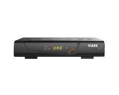 VIARK UHD-SAT-Receiver 4K-2160p H.265 DVB-S2X MS WLAN