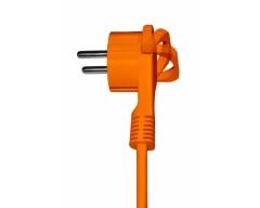NV54-20L, 20,0m, Verlängerungskabel für den Außenbereich mit Schutzkontakt-Flachstecker