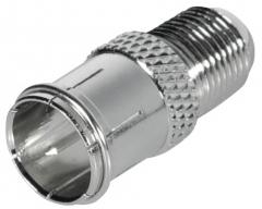 FF25HL, Prüfstecker F, Quick-F-Stecker - F-Kupplung