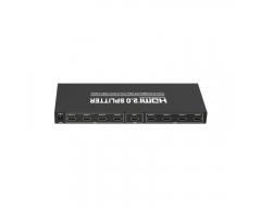 CS25-8L, 4K HDMI 2.0 Verteiler, 8fach, Eingang: 1, Ausgang: 8
