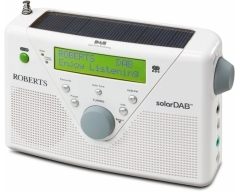 solarDAB 2 weiß, Solar-Radio, DAB+/UKW/RDS