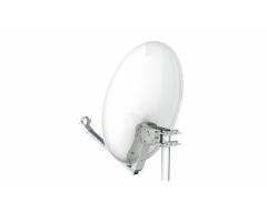 DSA ANK60STH hellgrau, Stahl-Reflektor 60cm