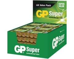 GP, LR06, 24 x 4er Folie (Display), Super Alkaline AA Mignon