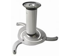 H16-2L, Deckenhalter für Beamer mit Kugelgelenk, Lochabstände universell einstellbar, (max. Lochkreisdurchmesser: 32 cm), De
