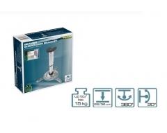 H16-3L, Deckenhalter für Beamer mit Kugelgelenk, silber