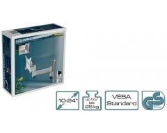 H6-1L, Wandhalter für Flach-Bildschirm 10-24 Zoll (25-61cm), trägt bis zu 25 kg