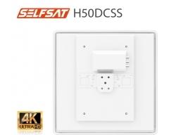 Selfsat H50dCSS+ Unicable 2 Antenne incl. 2 Legacy Ausgängen