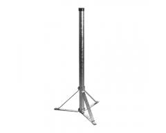 Stahl-Standfuß, 1,0m, Rohr Ø 48mm, zerlegbar