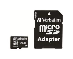 Verbatim 32 GB - Class 10 - microSDHC - Flash-Speicherkarte